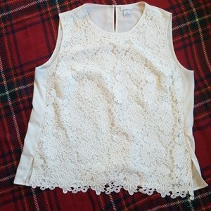 Liz Claiborne Lace Shell - free w/ purchase